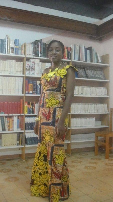 Modèles coupes et coutures africaines.